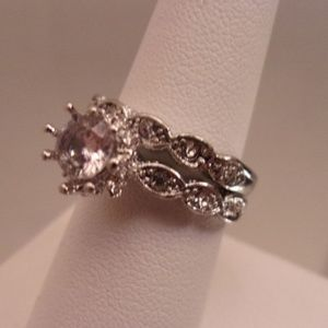 white saphire/.925 sterling